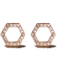 Astley Clarke - Honeycomb ダイヤモンドピアス - Lyst