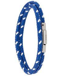 Tod's - My Colors Woven Bracelet - Lyst