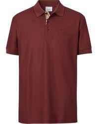 Burberry - モノグラム ポロシャツ - Lyst
