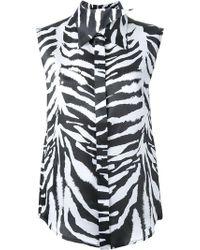 Aganovich - Sharp Collar Shirt - Lyst