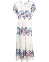 Isabel Marant Nimo シルクドレス - ホワイト