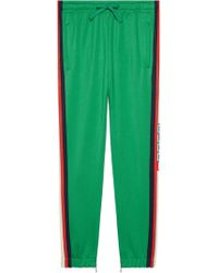 Gucci - Technical Jersey Jogging Trousers - Lyst