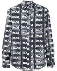 McQ Рубашка С Повторяющимся Принтом Логотипов - Многоцветный