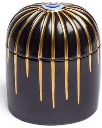 L'objet Lito Bleu Candle - Black