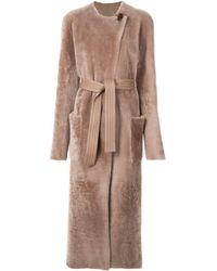 Altuzarra Clark Belted Coat - Brown