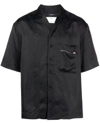 Song For The Mute Camisa Luxe de manga corta - Negro