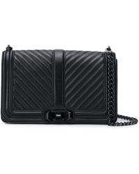 Rebecca Minkoff - Chevron Quilted Love Bag - Lyst