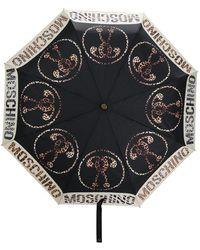 Moschino Зонт С Логотипом - Черный