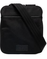 Polo Ralph Lauren キャンバス メッセンジャーバッグ - ブラック