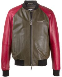 DSquared² - Bomberjack Met Colourblocking - Lyst