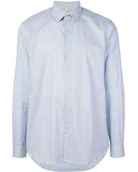 Paul Smith Рубашка В Клетку - Синий