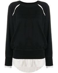DIESEL - Double Layer Sweatshirt - Lyst
