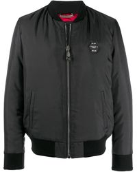 983601318 Space Bomber Jacket - Black