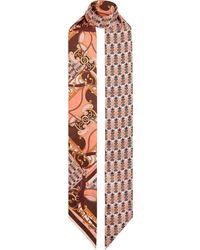 Fendi パターン スカーフ - マルチカラー