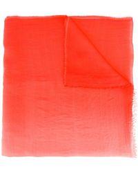 Armani - Striped Scarf - Lyst
