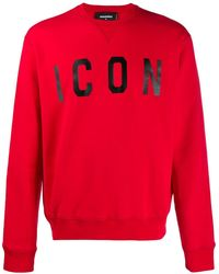 DSquared² Sweat Icon - Rouge
