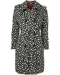 Louis Vuitton X Yayoi Kusama Pre-owned Polka Dot Trench Coat - Black