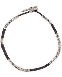 M. Cohen Hook And Eye Bracelet - Black