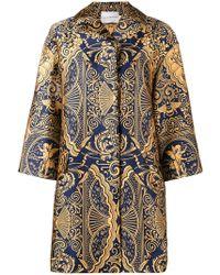 Mary Katrantzou - Spence Jacquard Oversized Jacket - Lyst