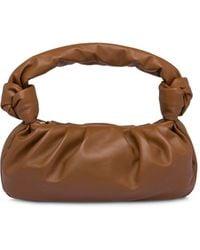 Miu Miu Slouchy Shoulder Bag - Brown