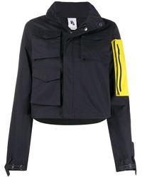 Off-White c/o Virgil Abloh Chaqueta con capucha y bolsillo removible x Nike - Negro