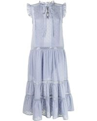 We Are Kindred Robe mi-longue Mia ample - Bleu