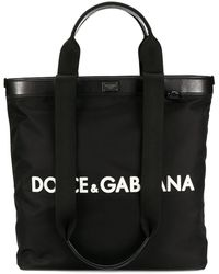 Dolce & Gabbana Grote Shopper - Zwart
