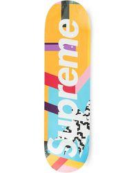 Supreme Planche de skateboard Mendini - Multicolore