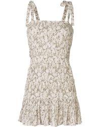 SIR - Alba Mini Dress - Lyst