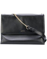 Lanvin Medium Sugar Shoulder Bag - Black