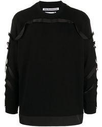 White Mountaineering タッセル スウェットシャツ - ブラック