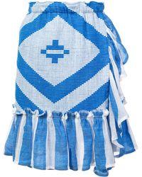 lemlem Biruhi ラップスカート - ブルー