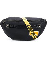 Off-White c/o Virgil Abloh Medium Industrial Belt Bag - Black