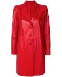 Sylvie Schimmel - Buttoned Up Coat - Lyst