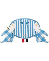 Thom Browne Crab Heuptas - Blauw