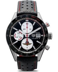 Tag Heuer 'Carrera Indy 500' Armbanduhr, 41mm - Mettallic