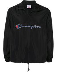 Supreme Pullover Met Halve Ritssluiting - Zwart