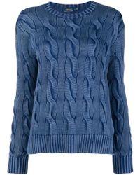 Polo Ralph Lauren - Longsleeved Knitted Top - Lyst