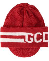 Gcds ロゴ ニットハット - レッド