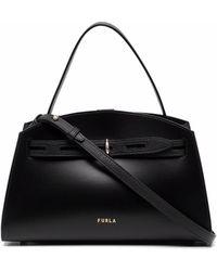 Furla Margherita ハンドバッグ M - ブラック