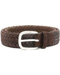 Orciani Woven Belt - ブラウン