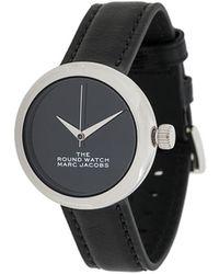 Marc Jacobs The Round 腕時計 - ブラック