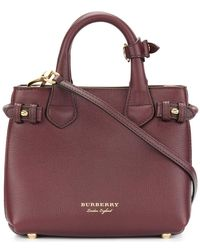 Burberry | Panelled Tote | Lyst