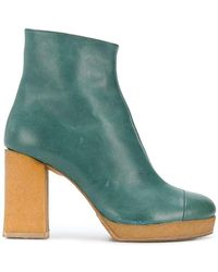 Chalayan - Platform ankle boots - Lyst