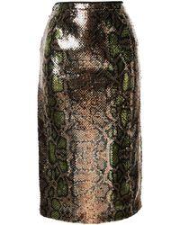 N°21 - スパンコール スカート - Lyst
