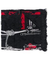 Alexander McQueen - スケルトン スカーフ - Lyst