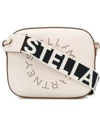 Stella McCartney Stella Cameratas Met Logo - Wit