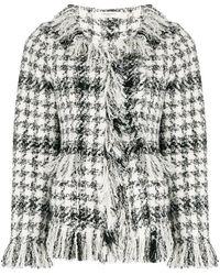 Charlott - Check Jacket - Lyst