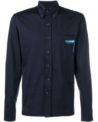 Prada Plain button down shirt - Bleu