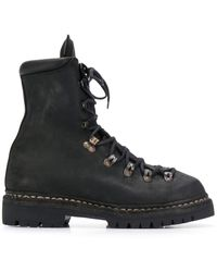 Guidi - Lace-up Ankle Boots - Lyst
